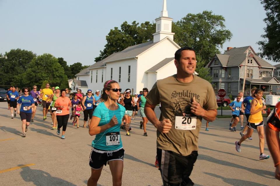 The 5K takes off with all ages, shapes, sizes, and achievement levels